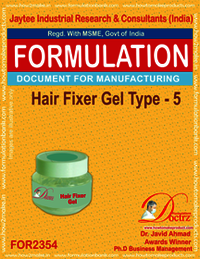 Hair fixer gel formulation type-5