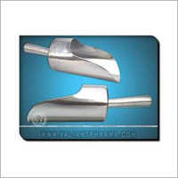 Stainless Steel Scoop Close