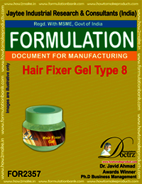 Hair fixer gel formulation type-8