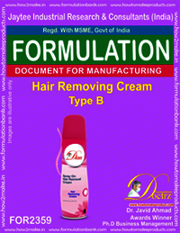 Hair Removing Cream Formula type-B