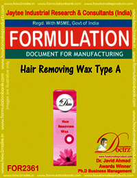 Hair Removing Wax Formula type-A