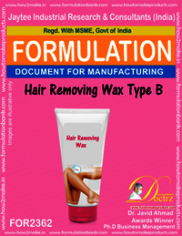 Hair Removing Wax Formula type-B