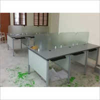 Glass Office Workstation