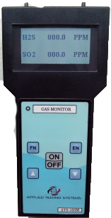 Toxic Gas Detector Humidity: 0-95 % Rh