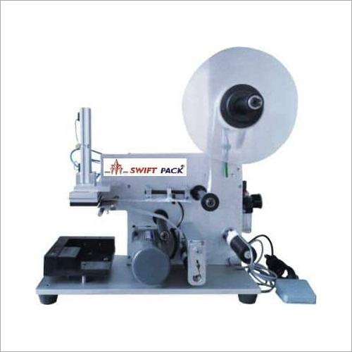 Flat Bottle Labeling Machine (Pneumatic Type)