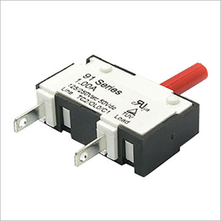 Resettable Thermal Circuit Breaker with 1.0A to 10.0A Current and Insulation Resistance