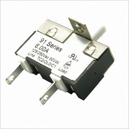 91 Series Thermal Circuit Breaker with 125250V AC, 50V DC Voltage Rating