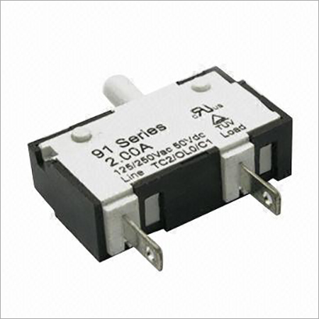 200A Thermal Circuit Breaker in 91 Series with 125250V AC, 50V DC Voltage
