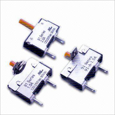 Mini Electronic Circuit Breaker with Input Power of 125250V AC and 60sec Rest Time