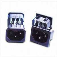 AC Power Socket with Rating of 15A250V AC; ULCSA Approval