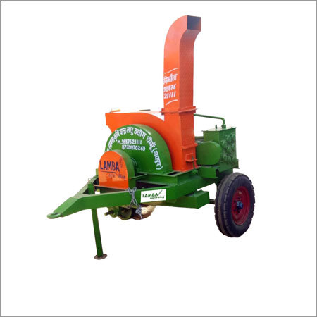 Triple Mouth Tractor Operated Chaff Cutter Machine 2 Front