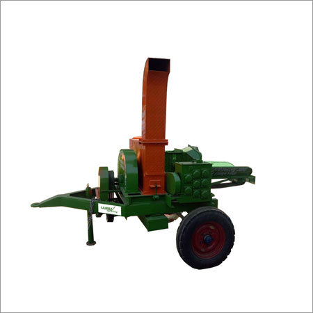 Triple Mouth Tractor Operated Chaff Cutter Machine 2 Side