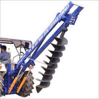Double Boom Double Pump Hydraulic Post Hole Digger