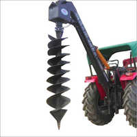 Single Boom Single Pump Hydraulic Post Hole Digger