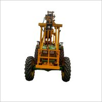 Cotetion For Upper Boom Crane With Post Hole Digger