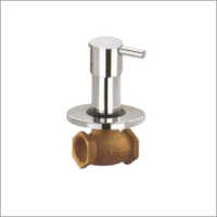 Flush Valve With Handle