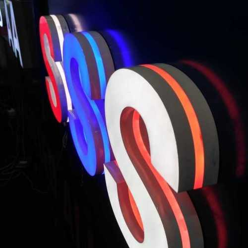 Revolving LED Floor Display