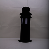 LED Bollard 12 W (Black Ethnic)