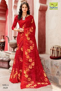daily wear printed saree