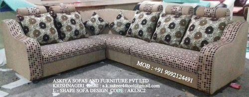L - Shape sofa design