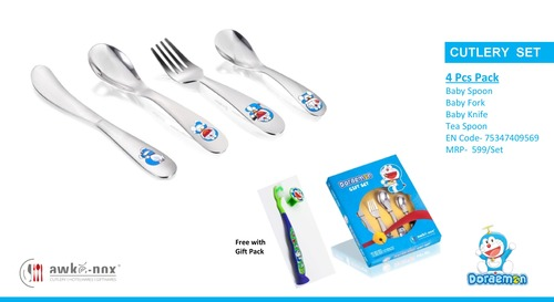 Kids 4 pcs Cutlery Sets
