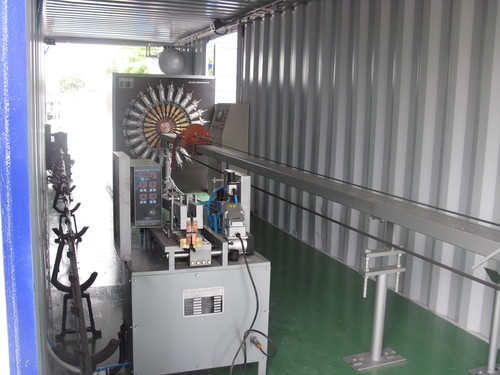 Mobile Filter Cage Production Line
