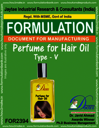 Formula of Perfume compound for Hair Oil type-5
