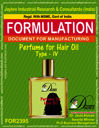 Formula of Perfume compound for Hair Oil type-4