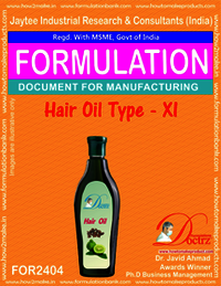 Formula of Hair Oil type-xi