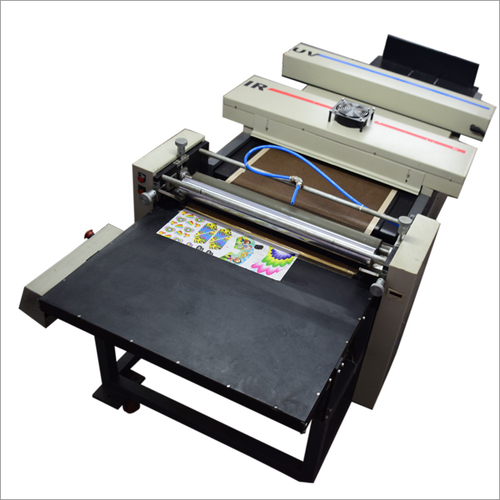 Roller Coater with UV & IR Lamps
