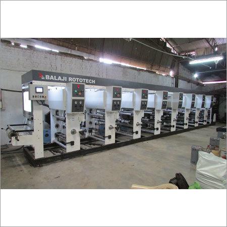 Rotogravure Printing Machine Economy