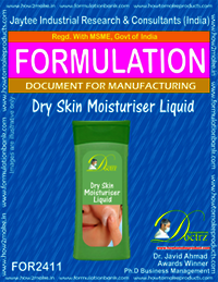 Formula of Dry Skin moisturizing Liquid