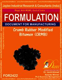 Crumb Rubber Modified Bitumen (CRMB) Formula