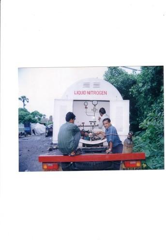 Liquid Nitrogen Tanker