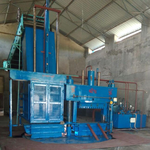 Double Stage Cotton Baling Press