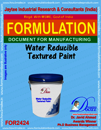 Water Reducible Texture Paint formula