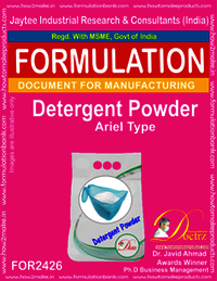 Detergent Powder ariel Like Formula