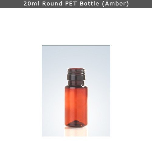 20ml Pharma Round Pet Bottle