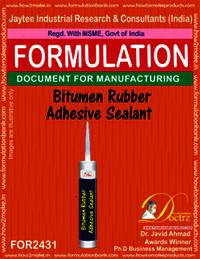 Bitumen Rubber Adhesive sealant