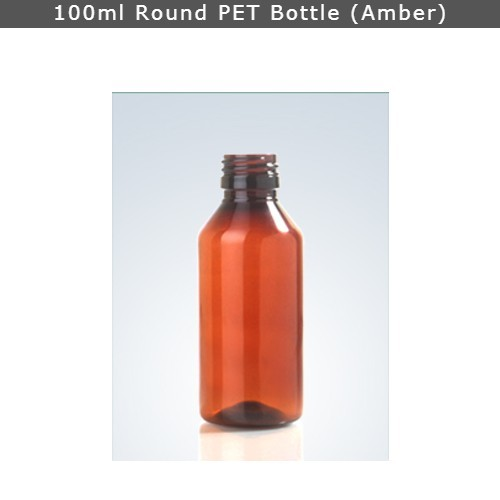 100ml Pharma Pet Bottle