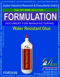 Water Resistant Glue Formulation