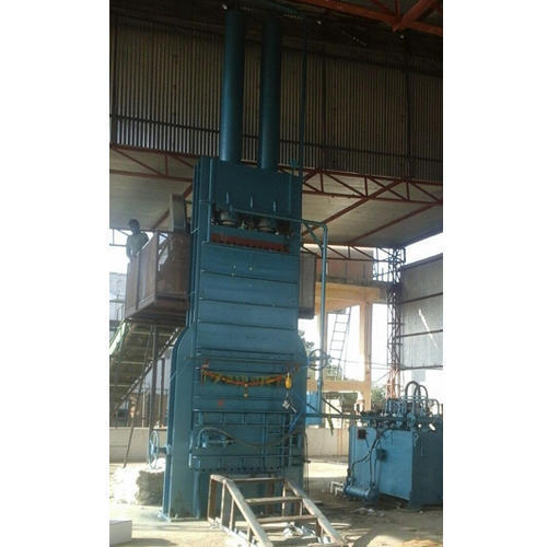 Single Stage Down Packing Cotton Baling Press