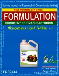 liquid Micro-Nutrient Fertilizer formula-1
