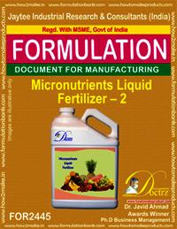 Liquid Micro-Nutrient Fertilizer Formula-2