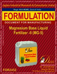Magnesium Base Liquid Fertilizer-2 (MG-5)