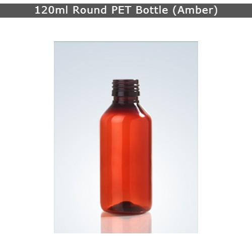120ml Pharma Pet Bottle