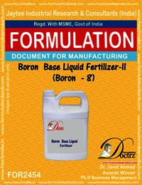 Boron Base Liquid Fertilizer-2 Boron-8