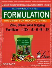 Zinc-Boron Solid Dripping Fertilizer -1 Z-5 & B-5