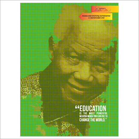Nelson Mandela Cover Page Notebook