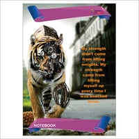 Tiger Cover Notebook